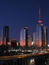 Condominiums in downtown Toronto